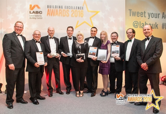 'Best High Volume New Housing Development', LABC Building Excellence Awards, Central Region