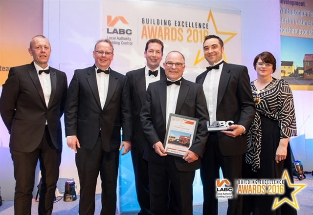 'LABC Residential Site Agent of the Year', LABC Building Excellence Awards, Central Region