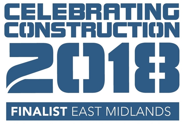 Herne Lodge in the Finals of the Celebrating Construction Awards