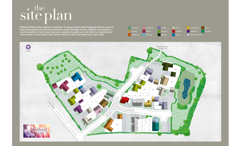 Plot 3 glooston grace homes for Find plot plan online